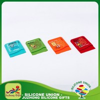 Silicone low price high quality most fashionable card holder