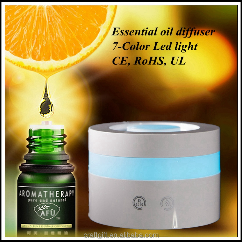New100ml ultrasonic aromatherapy diffuser humidifier with LED light