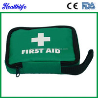 Emergency kit hand carry kit roadside first aid kit red cross