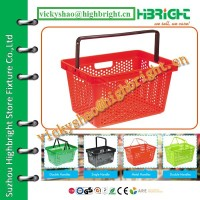 plastic carry basket / plastic basket and crate