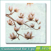 canvas oil painting 30x30'' size flower paintings
