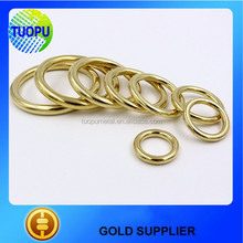 Hot sale brass o ring buckle brass o ring belt buckle brass round rings