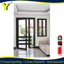 YY windows and doors AS2047 lowes interior french doors for small spaces aluminium doors and windows accessories