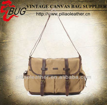 2013 Fashionable Canvas Messenger Bag Khaki