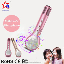 Latest Intelligent Best Child Singing Toys Wireless Bluetooth 3.0 Mini Broadcast Microphone For Christmas Children Gift