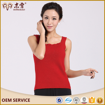 spring-summer fashion cashmere sweaters vest