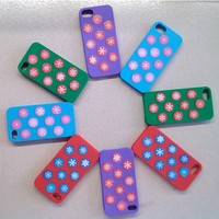Silicon Phone Cover Case For iPhone 5S/5