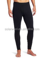 Merino Wool Heated Thermal Underwear Special Design For Man