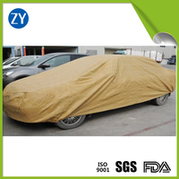 Heat resisting hdpe tarpaulin for car covering