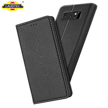 Premium Leather Book Stand Case Slim Wallet Cover for Samsung Galaxy Note 8