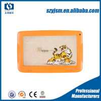 Best low price lcd tablet pc with kid proof silicone kids 7 inch tablet case in candy color