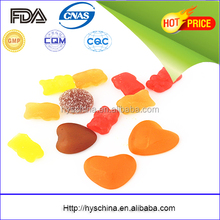 Kosher Halal certificate bear gummy candy for hair
