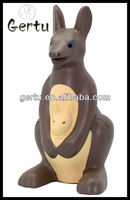 Kangaroo shape stress ball/animal antistress ball