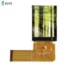 Hot 1.77inch rgb interface portrait lcd module lcm with flex cable for sony ericsson w995