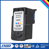 High capacity dyeing ink cartridge for Canon CL511