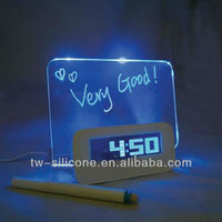 Hottest selling products personalized alarm clock led light alarm clock