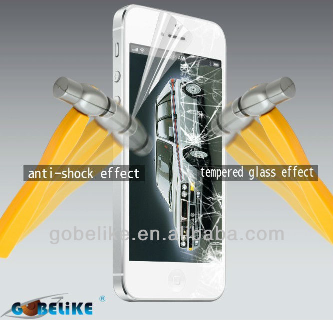 mobile phone anti broken screen guard/protector for iphone 5