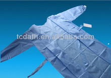 Water and blood resistance SMS disposable surgical gown