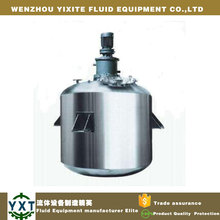 Sanitary Mirror Polished Stainless Steel Welded Mixing Extraction Tank with Agitator