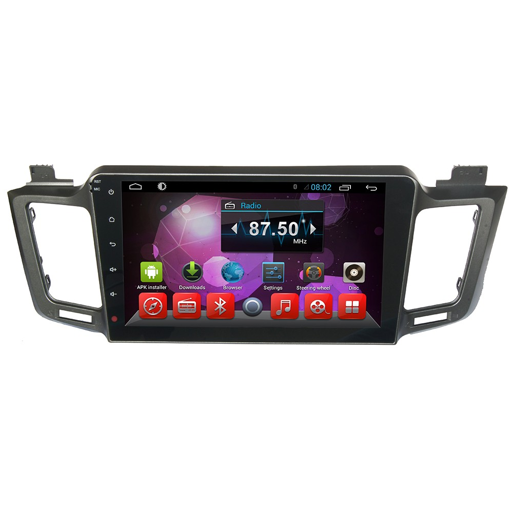 10.2 inch car multimedia system for toyota rav4 gps navigator with RDS 3g wifi function