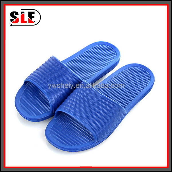 Factory wholesale men's home slippers shoes eva injection bathroom home slippers child sandals and slippers