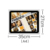 A3/A4  photo frame crystal advertising poster lighting box in mall