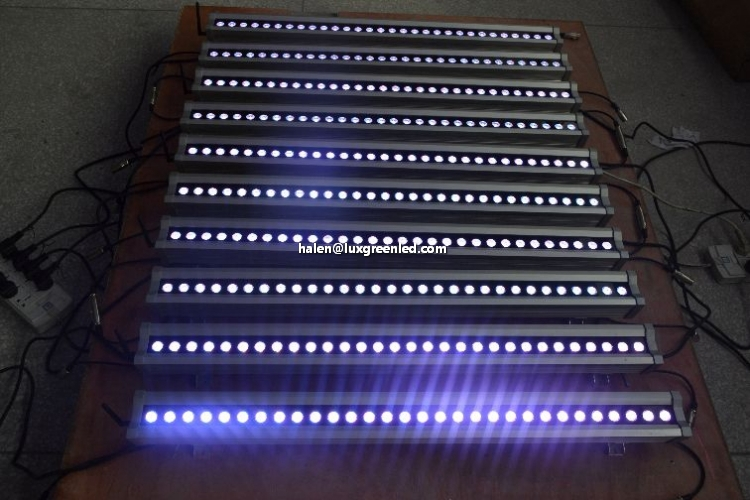 100-240V Wireless DMX RGBW 4in1 LED Wall Washer 160W