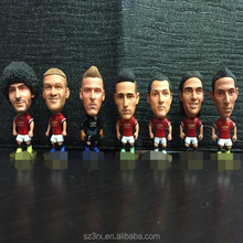 3 inch custom made plastic soccer player toys,plastic toys world cup,make your own football player toy
