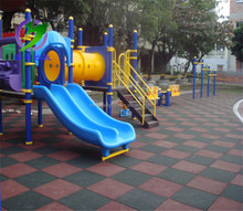 Alibaba product outdoor rubber flooring