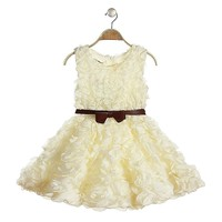 small quantity girls kids dress clothing little queen flower girl dress beautiful gowns for kids
