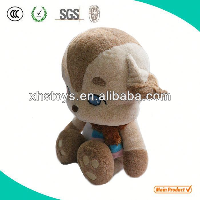 Cute Soft sleeping toy puppy
