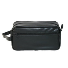 Mens PVC travel hanging quilted makeup case toiletry bag