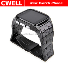 TW810+ Metal Body Watch Mobile Phone with Bluetooth Watch Function 1.3MP Camera