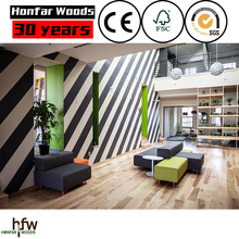 2016 New design Zebra wood Flooring with high quality