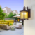 Modern Lantern Coffee Gold Glass Exterior Vintage Outdoor Wall Light