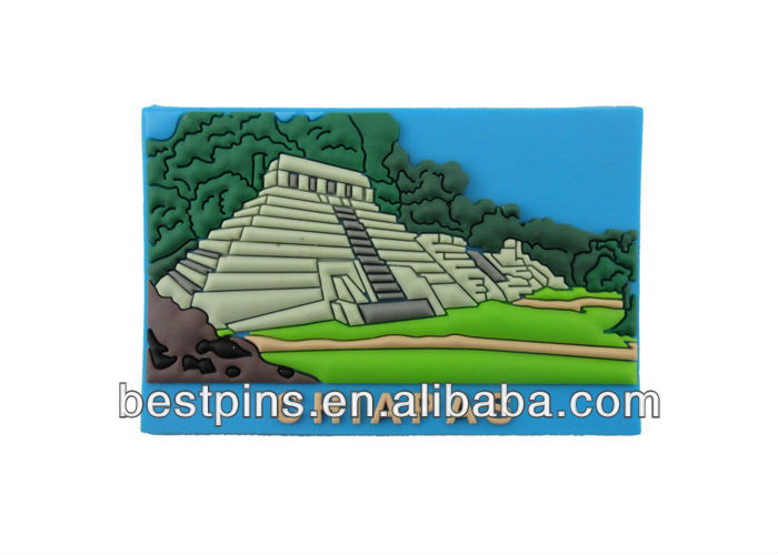 3D Custom Chiapas Soft Pvc Fridge Magnet
