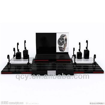selling well all over the world!Shenzhen acrylic countertop watch display