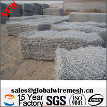 galvanized gabion box wire fencing