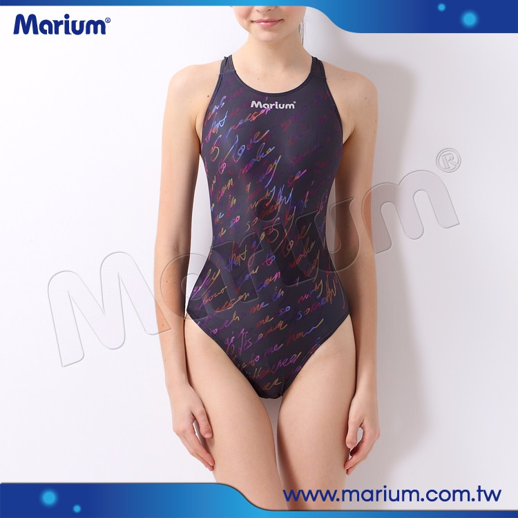 Professional Lycra Swimsuit For Women Digital Printed Girls Swimming Suit