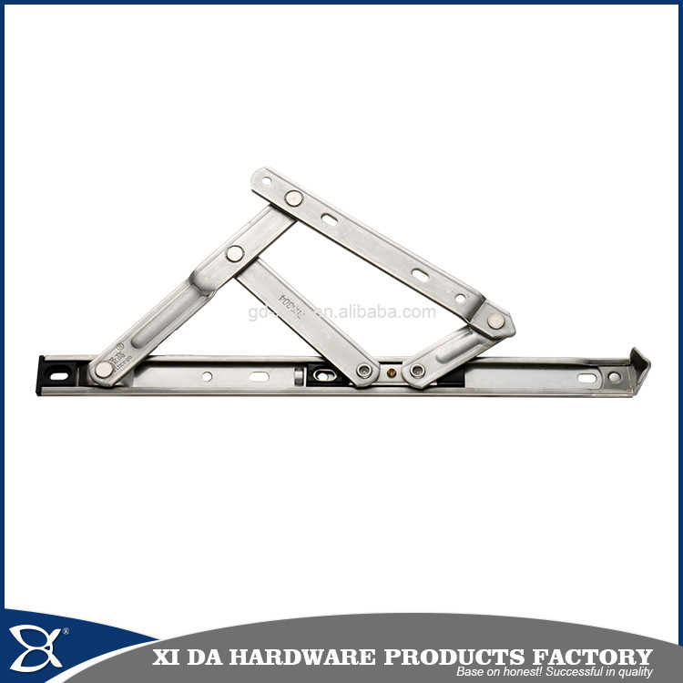 Stainless steel 2 bars stainless steel top hung window hinge friction stay