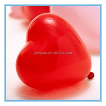 2015 Hot Sale Different Sizes Different Color Latex Balloons / Different Heart Shaped Inflatable Balloons