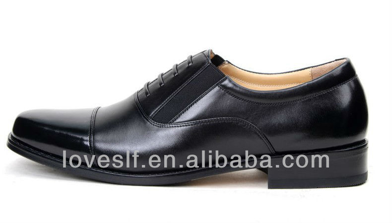 Loveslf the new hot sale black genuine leather fashion leather office military army shoes