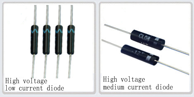 5 mA 10 x DIODES 10 000 VOLTS 50 nS  ULTRA FAST RECTIFIER DIODES