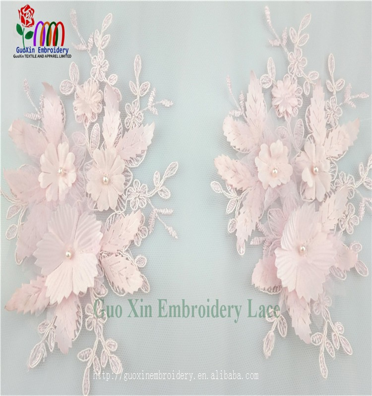 china manufacturer bulk sale embroidered lace fabric africa lace tulle for garment