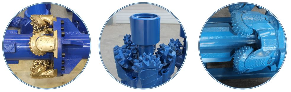 Oil well drilling equipment reamer bit various details.jpg