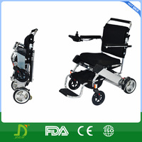 Luxury Automatic Battery Powered Lightweight Folding Wheelchair , 120kg
