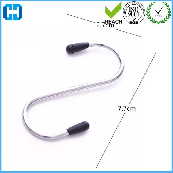 Customized Packing Stianless Steel S Hooks Fashion Hanger for Shoes Clothing