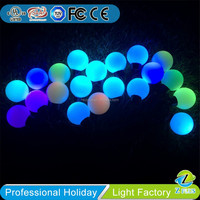 RGB ball Outdoor/indoor decorative Christmas string light