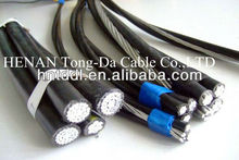 ABC CABLE Quadruplex Service Drop AAC AAAC ACSR cable 0.6/1kV