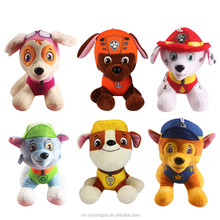 Hot sales FAMA factory Cheap Cute promotional Nickelodeon toy custom animal plush baby patrol dogs toys